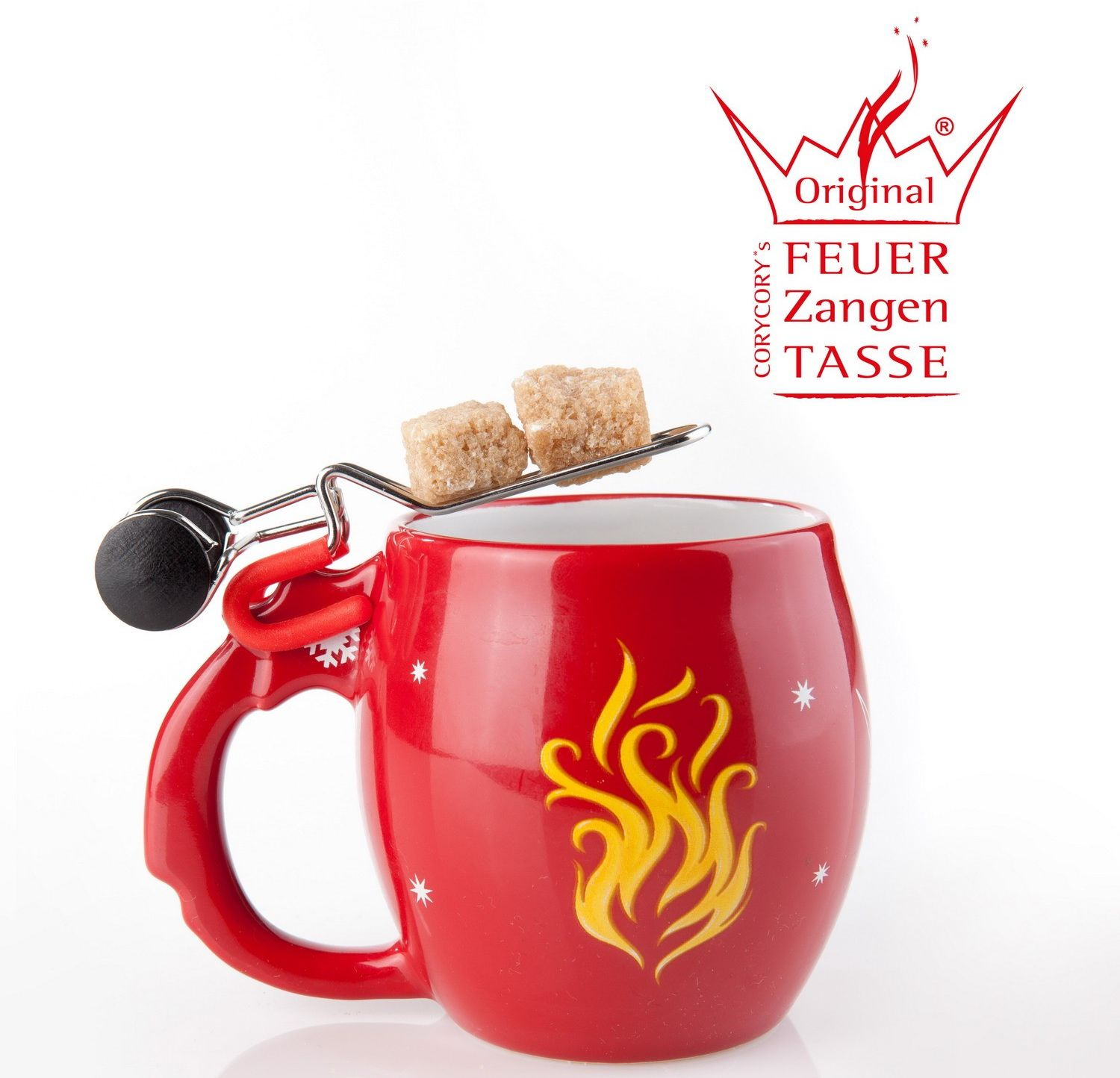 4 original feuerzangen becher tassen feuer feuerzangenbowle sternenschweif 2013 ebay. Black Bedroom Furniture Sets. Home Design Ideas