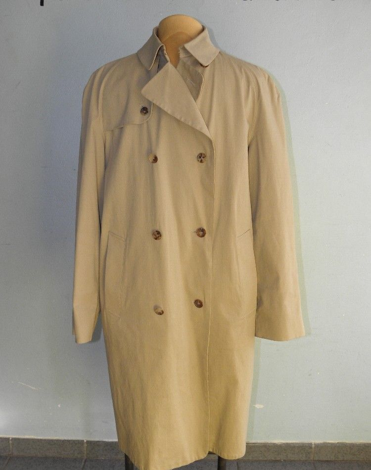 burberry herren mantel trenchcoat herrenmantel beige gr 50 regular lang ebay. Black Bedroom Furniture Sets. Home Design Ideas
