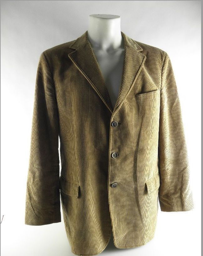 toni gard herren sakko cordjacke jacke blazer beige baumwolle gr 52 ebay. Black Bedroom Furniture Sets. Home Design Ideas