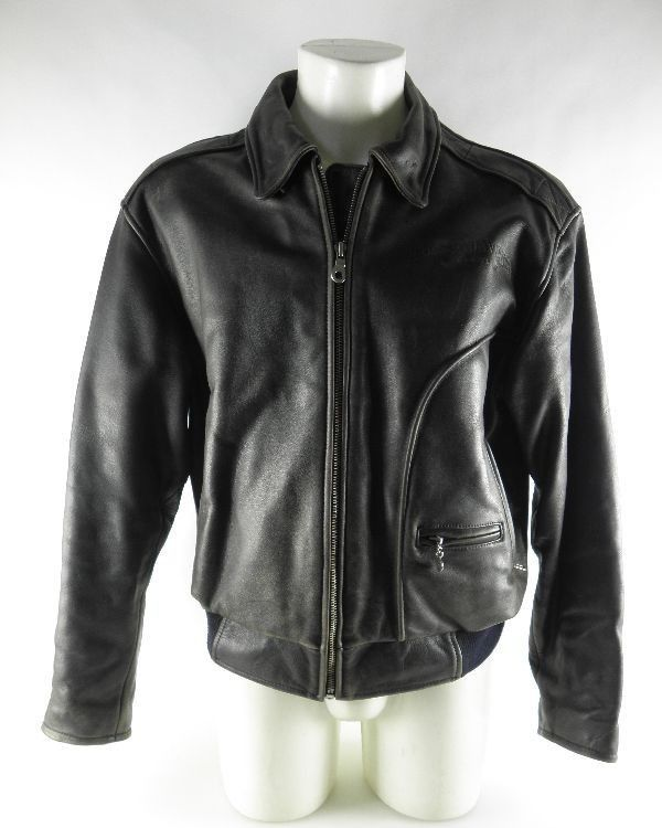 orig harley davidson vintage lederjacke blouson. Black Bedroom Furniture Sets. Home Design Ideas