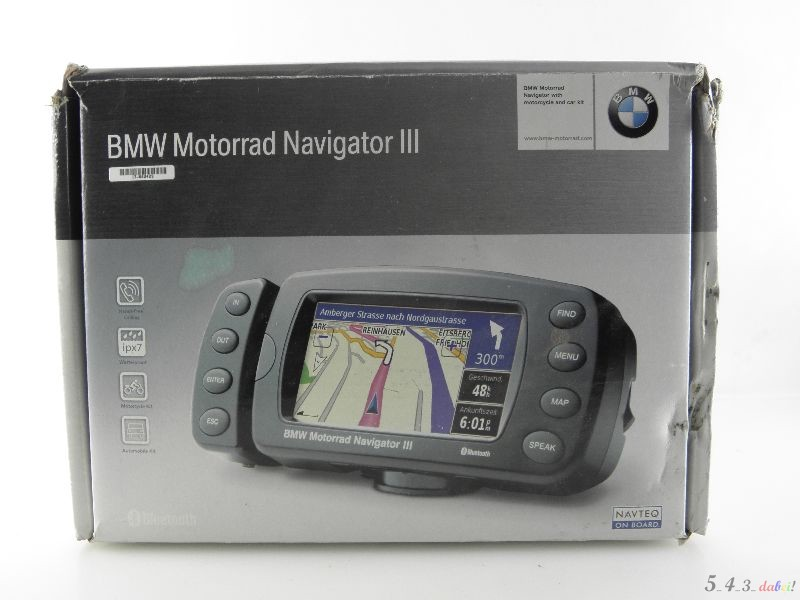 bmw motorradnavigator iii 3 navi navigation motorrad. Black Bedroom Furniture Sets. Home Design Ideas