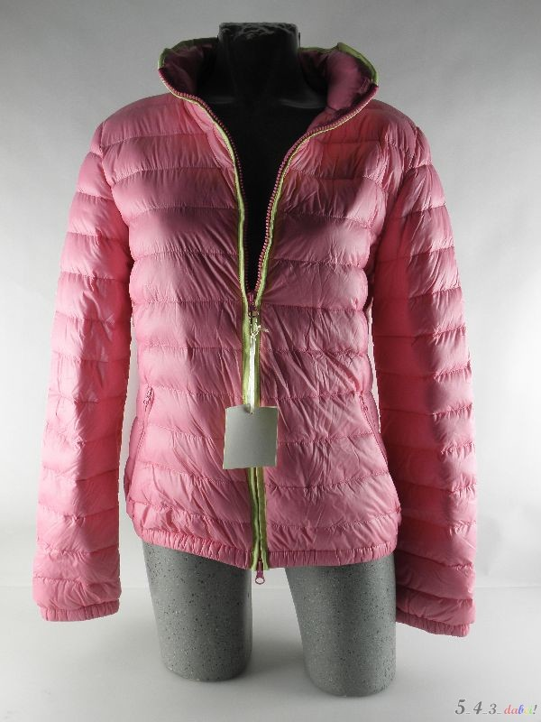 daunenjacke sommerdaune jacke damenjacke sommerjacke daune leicht gr 42 rosa ebay. Black Bedroom Furniture Sets. Home Design Ideas