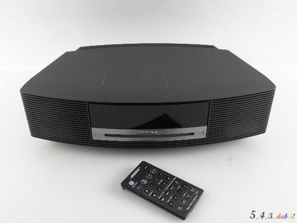 bose wave music system awrcc3 inkl fernbedienung schwarz topzustand ebay. Black Bedroom Furniture Sets. Home Design Ideas