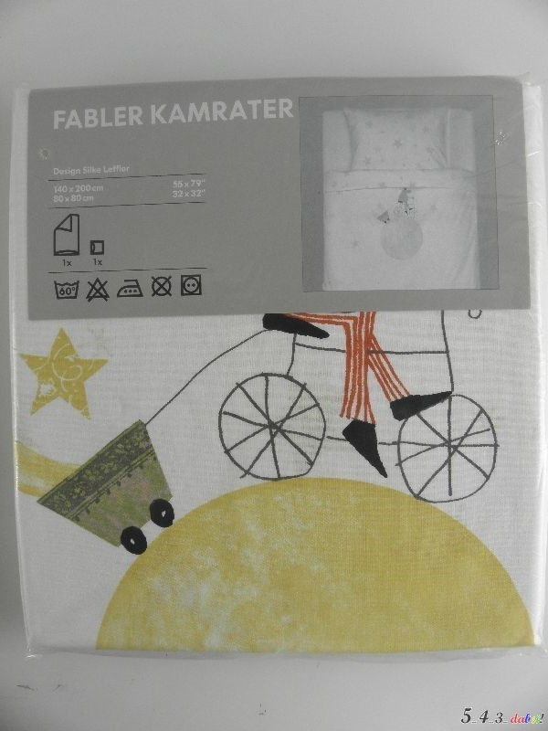 ikea fabler kamrater bettw sche set kinderbettw sche kinder kinderbett neu ovp ebay. Black Bedroom Furniture Sets. Home Design Ideas