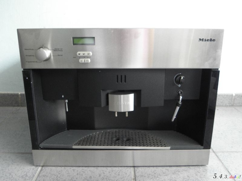 miele cva 620 einbau kaffevollautomat kaffeemaschine edelstahlfront ebay. Black Bedroom Furniture Sets. Home Design Ideas