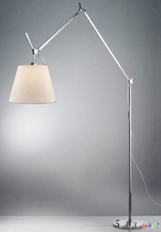 artemide tolomeo mega terra stehlampe lampe 42 cm pergamentschirm tolomeo terra ebay. Black Bedroom Furniture Sets. Home Design Ideas