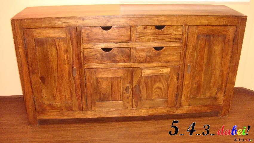 sideboard regal kommode m bel wolf yoga sheesham 180 ebay. Black Bedroom Furniture Sets. Home Design Ideas